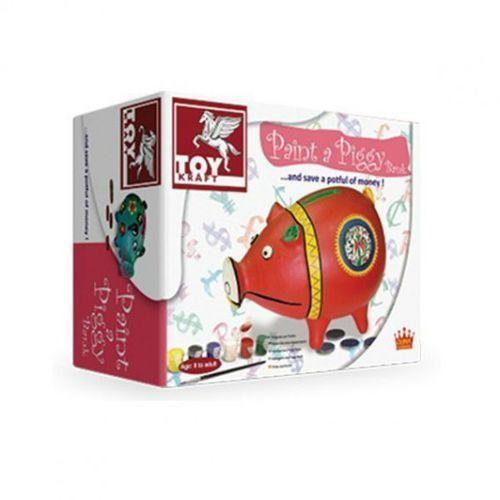 Toy Kraft Skarbonka świnka do zdobienia (8906022394139)