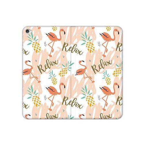 Etuo flex book fantastic Apple ipad air 2 - etui na tablet flex book fantastic - różowe flamingi