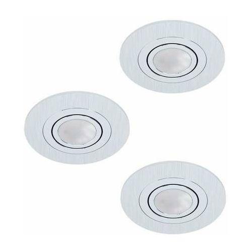 Eglo Areitio 98639 zestaw reflektorów 3x5W GU10 srebrny (9002759986391)