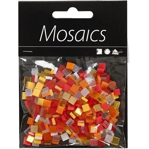 Mozaika 5x5 mm - pomarańczowa