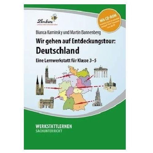 Wir gehen auf Entdeckungstour: Deutschland, Set mit CD-ROM Kaminsky, Bianca (9783869986920)