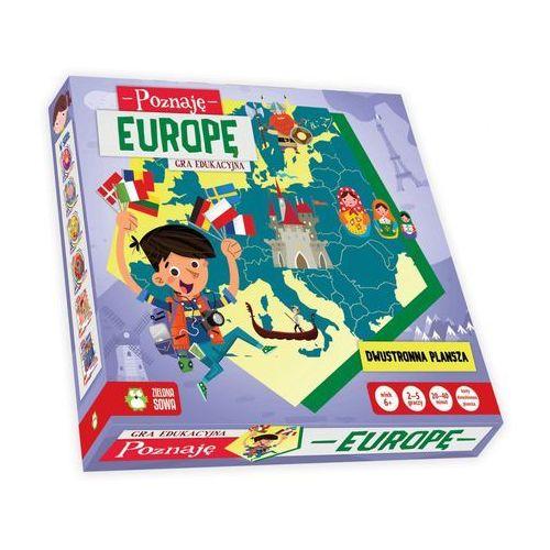 Poznaję europę. gra edukacyjna marki Zielona sowa