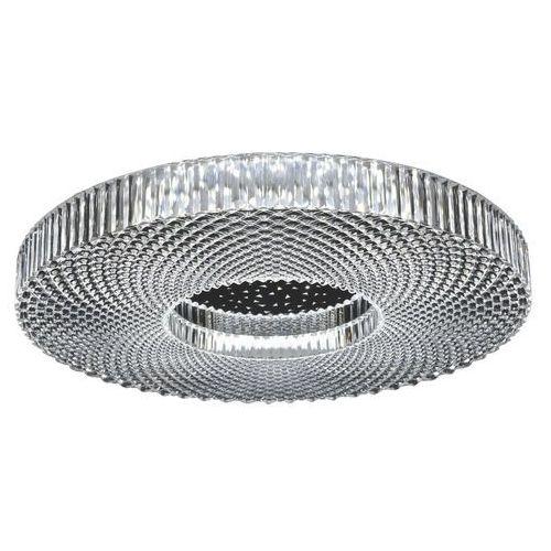 Rabalux Lampa sufitowa ziva 3064 okrągła oprawa plafon led 36w 3000k - 6000k glamour chrom (5998250330648)
