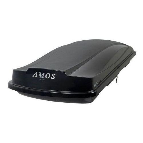 Amos-bis Box dachowy travel pack 500 czarny + dostawa 24h // odbiór osobisty ul. grochowska 172, ul. modlińska 237 //