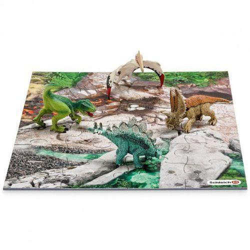 Schleich Dinozaury z puzzlami, Odkrywca (4005086422131)