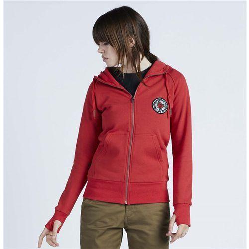 bluza NIKITA - Norah F-Z Hoody Marachino (MAC) rozmiar: L, kolor czerwony