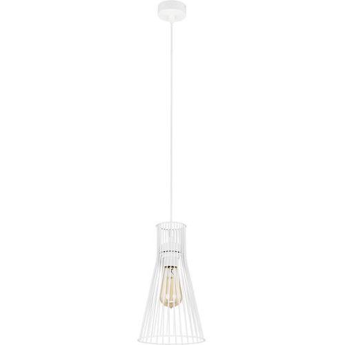 Lampa wisząca druciana zwis TK Lighting Vito White 1x60W E27 biała 1500, 1500