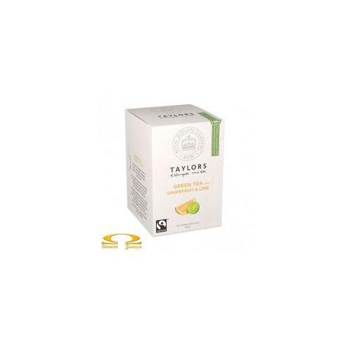 Herbata Taylors of Harrogate Zielona z Grejpfrutem i Limonką 20 saszetek - produkt z kategorii- Zielona herbata
