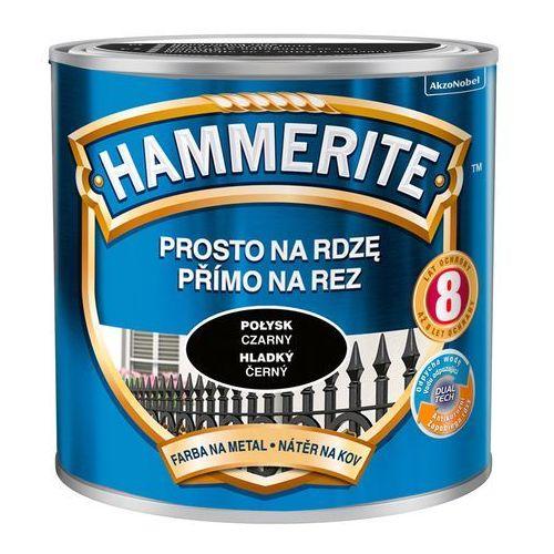 Prosto na rdzę - efekt połysk czarny 0,25l marki Hammerite