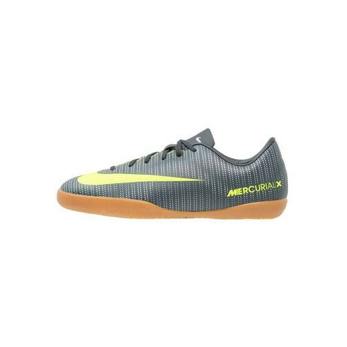 Nike Performance JR MERCURIAL VAPOR XI CR7 IC Halówki seaweed/volt/hasta/white/metallic silver