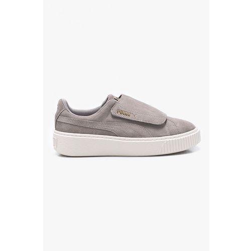 Puma - buty dziecięce suede platform strap jr