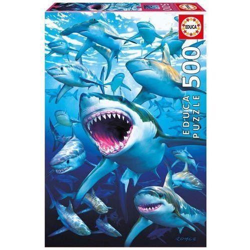 Educa Puzzle 500 elementów shark club - darmowa dostawa od 199 zł!!! (8412668170858)