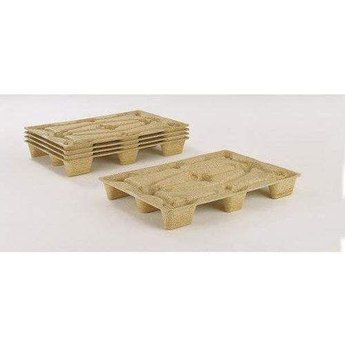 Paleta z prasowanego drewna, dł. x szer. 1200x800 mm, z 9 nóżkami, nośność 1250 marki Inka paletten