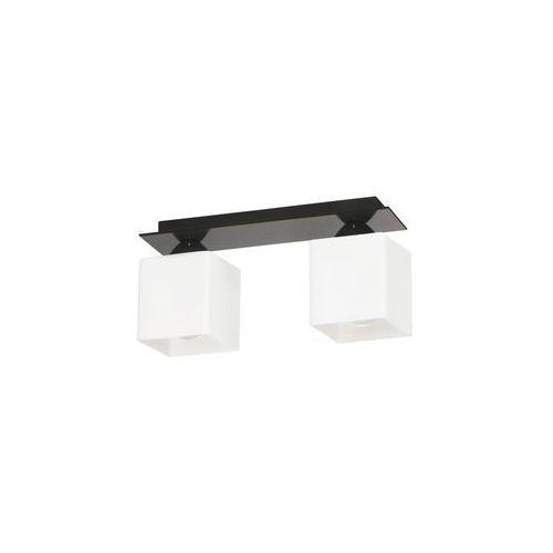 Lampex Lampa sufitowa floki 2 czarna (5902622115863)
