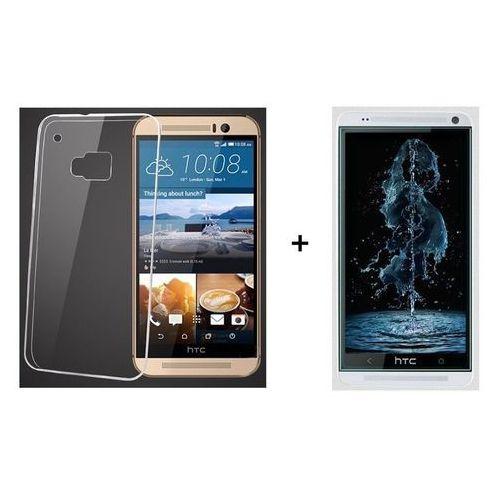 Zestaw Szkło ochronne Perfect Glass + Obudowa Ultra Slim Przezroczysta HTC Desire 820