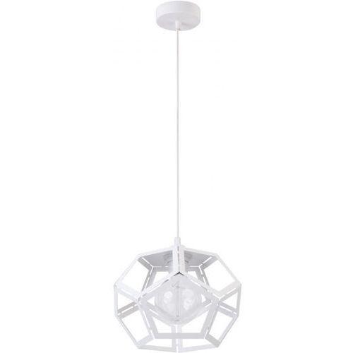 Sigma Lampa wisząca ato m 31878 metalowa oprawa geometryczna zwis loft biały