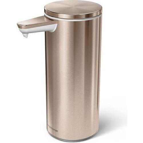 Dozownik bezdotykowy akumulatorowy 266 ml różowe złoto marki Simplehuman