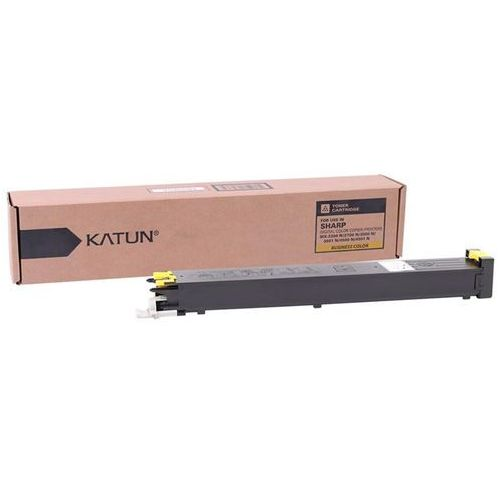 Toner 39092 yellow do kopiarek sharp (zamiennik sharp mx-27gtya) [15k] marki Katun