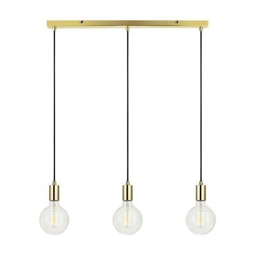 Markslojd Minimalistyczna lampa wisząca sky 106335 metalowa oprawa zwis listwa sufitowa przewody kable mosiądz (7330024558472)