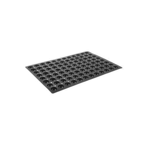 Forma silikonowa do pieczenia 600 x 400 mm, 96 x semi sphere | HENDI, 676325