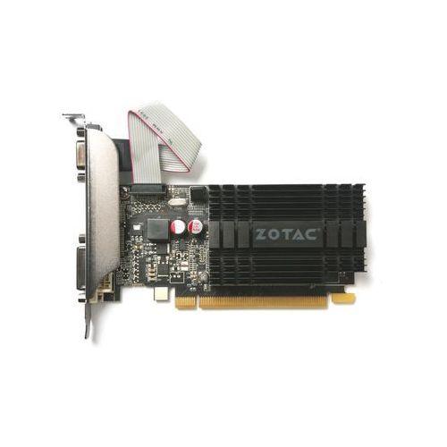 Karta graficzna Zotac GeForce GT 710 Zone 2GB DDR3 (64 bit) DVI, HDMI, VGA (ZT-71302-20L) Darmowy odbiór w 20 miastach! - sprawdź w wybranym sklepie