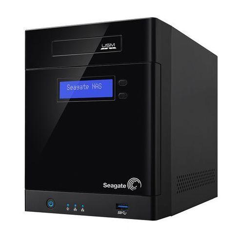 Seagate  business storage 4-bay stbp8000200 - cavium cns3420 / 0,5 gb / 8 tb / 2 x gigabit lan / 4-dyskowy, kategoria: pozostałe komputery