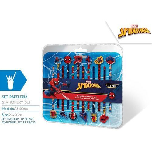 Ołówki z gumką spiderman 12 szt marki Euroswan