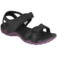 Sandały męskie sam001  - czarny marki 4f