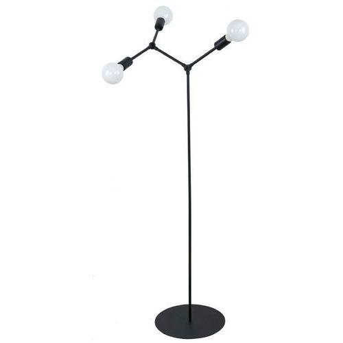 twig 9137 lampa stojąca podłogowa 3x60w e27 czarna marki Nowodvorski