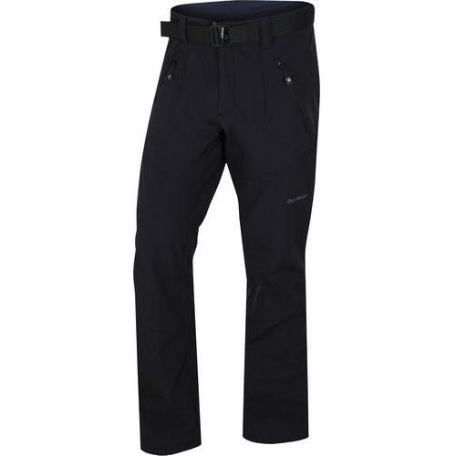 Husky spodnie softshellowe męskie kresi m, czarne xxl (8592287098563)