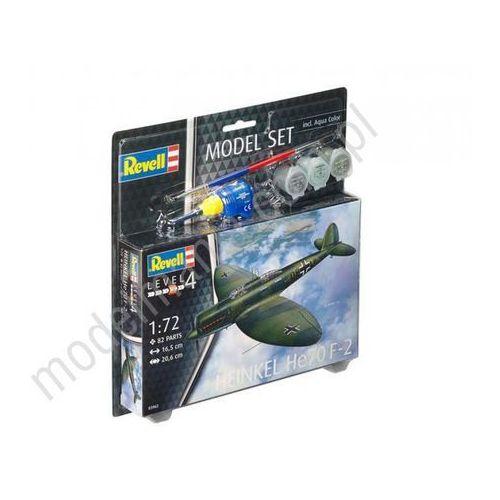 Revell Samolot kurierski i rozpoznawczy heinkel he70 f-2 (z farbami) 63962 (4009803639628)
