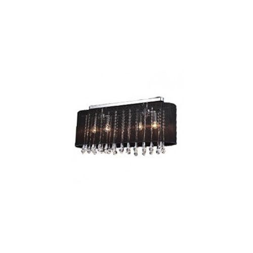 ISLA MXM1870-4 BL CZARNY LAMPA SUFITOWA ITALUX, 38 / MXM1870-4 BL