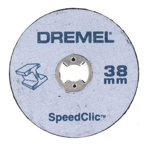 Zestaw szlifierski Dremel trzpień i tarcze 38 mm (8710364042814)