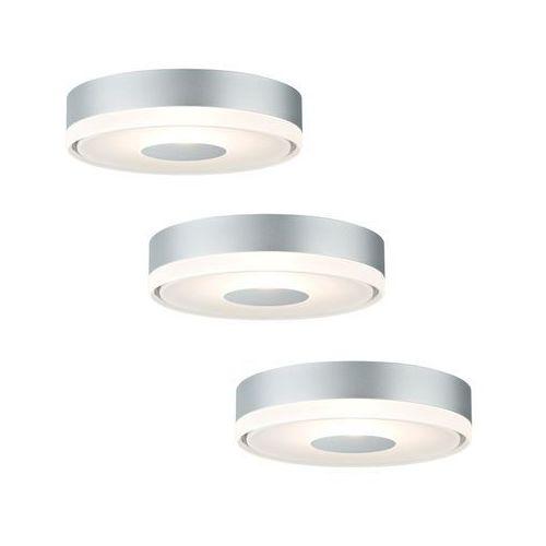 Paulmann 92542 - ZESTAW 3x LED oprawa wpuszczana PREMIUM LINE 3xLED/4W/230V/12V
