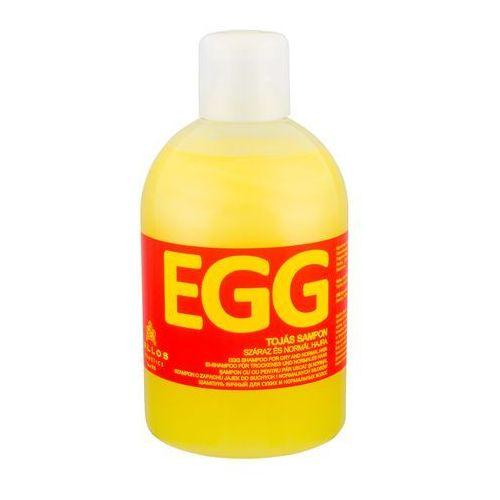 Kallos hair care szampon odżywczy do włosów suchych i normalnych (egg shampoo) 1000 ml (5998889520106)