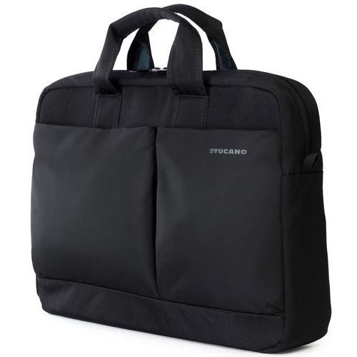 "Tucano Piu Bag - Torba MacBook Pro 15"" Retina & notebook 15.6"" / ultrabook 15.6"" (czarny), kolor czarny"