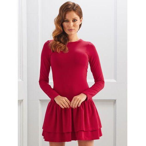 Sukienka Katie w kolorze czerwonym marki sugarfree.pl