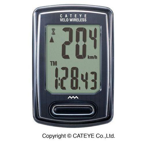 Licznik rowerowy Cateye VELO CC-VT230W bezprzewodowy czarny (4990173028580)