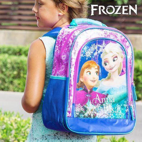 Błyszczący plecak szkolny kraina lodu marki Frozen