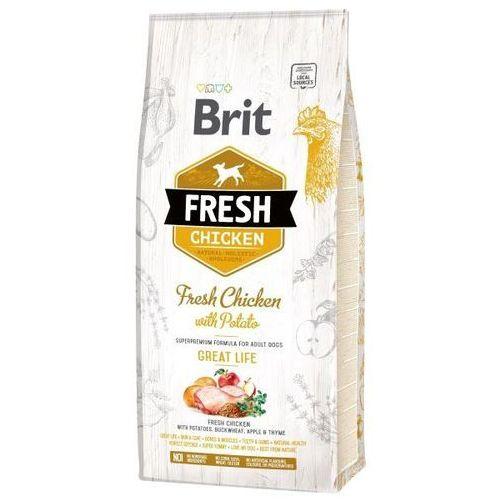 BRIT FRESH ADULT chicken / potato - 2,5kg, 1003672