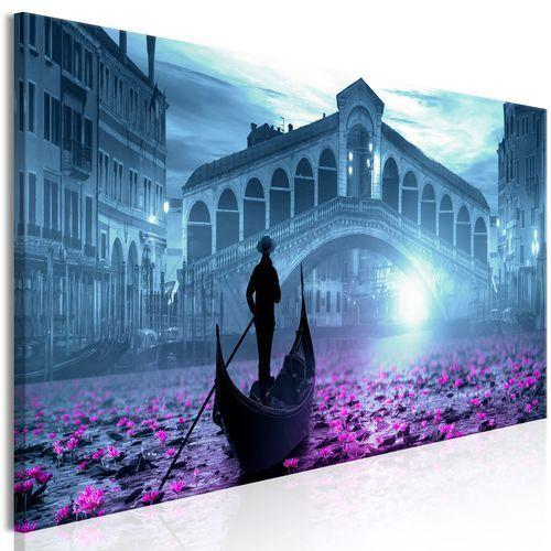 Obraz - magiczna wenecja (1-częściowy) wąski niebieski marki Artgeist