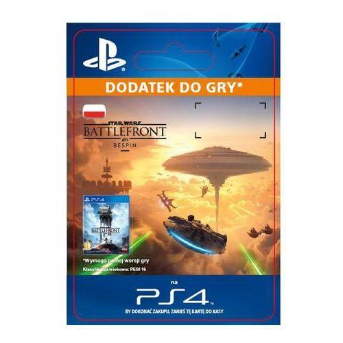 Sony Star wars battlefront - bespin dlc [kod aktywacyjny]
