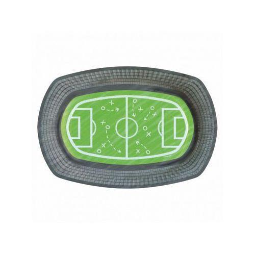 Talerzyki Stadion Kicker Party - 24x16 cm - 6 szt. (0013051807757)