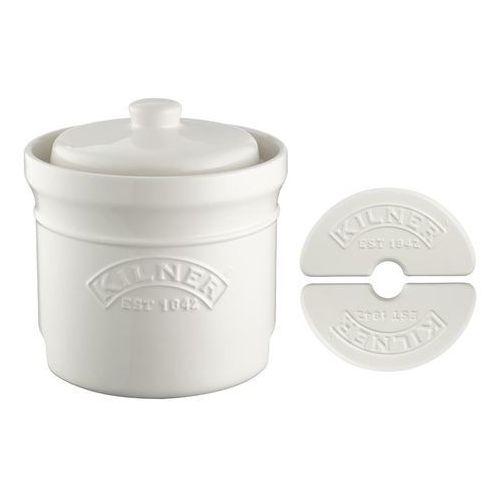 - naczynie ceramiczne do kiszenia + kamienie marki Kilner