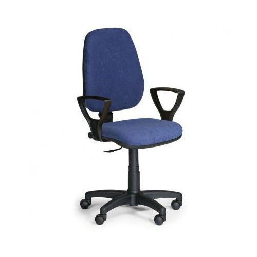 Euroseat Krzesło biurowe comfort pk z podłokietnikami - niebieske