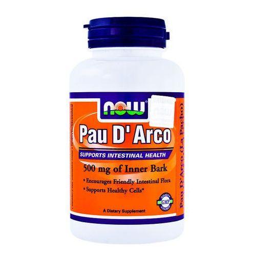 Kapsułki Now Foods Pau D'Arco (LaPacho) 500mg 100 kaps.