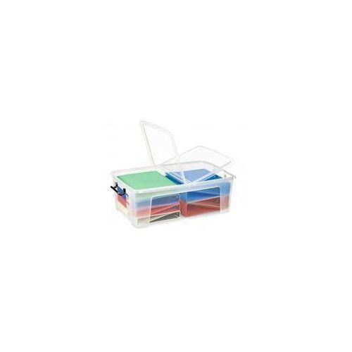 Pojemnik biurowy CEP Smartbox, 50l, transparentny (5021711039511)
