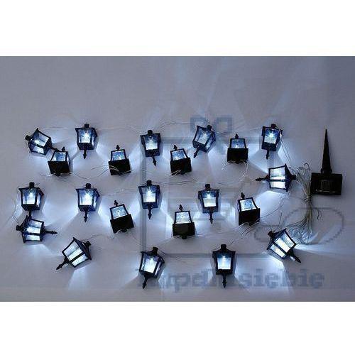 Garthen Łańcuch lamp ogrodowych solarny garth - latarnie 24 diod led (4025327341120)