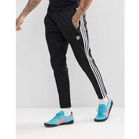adicolor beckenbauer joggers in skinny fit in black cw1269 - black marki Adidas originals