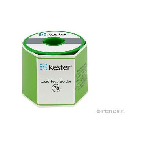 Kester (mpp) bezołowiowy drut lutowniczy sn96,5ag3,0cu0,5, średnica: 0,8 mm, masa szpuli: 500g